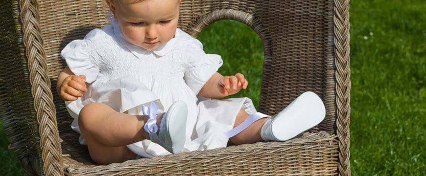 ceremony baby shoes