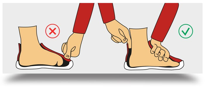 How to determine children's shoes shoes size