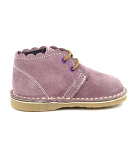 Boni Babe, children's suede ankle boots.