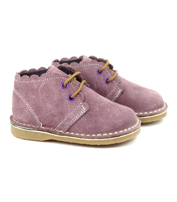 Boni Babe, children's suede ankle boots. -