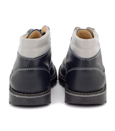 Boni Luc, boys leather ankle boots. -