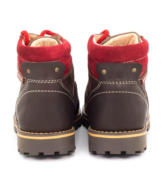 Boni Mountain, boys leather ankle boots. -