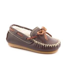 Boni Laponia, leather mocassins