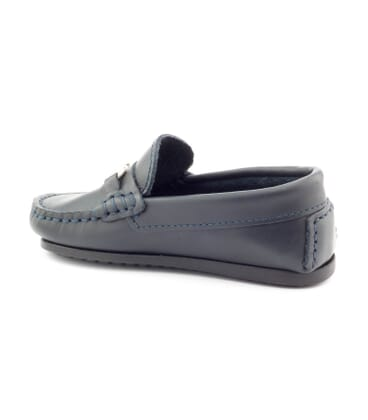 Boni Boucle, leather mocassins -