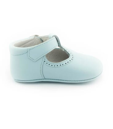 Boni Johan - baby soft leather pre-walkers Buckle -