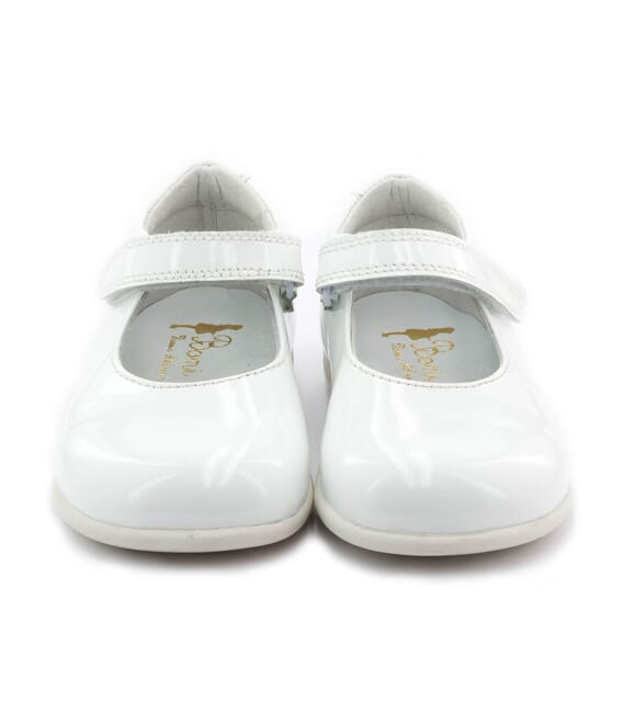 Boni Withe - First step baby shoes -