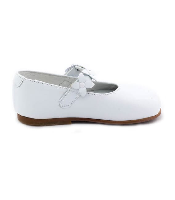 Boni Mademoiselle - chaussure blanche fille -