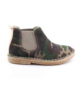 Boni Camouflage - suede boys boots