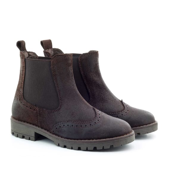 Boni Rainfall – waxed suede children's Boots -
