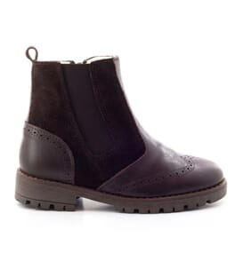 Boni Hudson – Children's leather woolly Boots