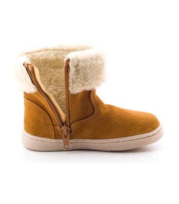 Boni Dolly - Brown Baby Woollen Boots -