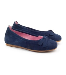 Boni Jane - royal blue flat shoes