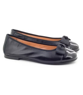 Boni Isaure - girls black ballet pumps