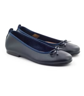 Boni Ophélie - girl navy flat shoes