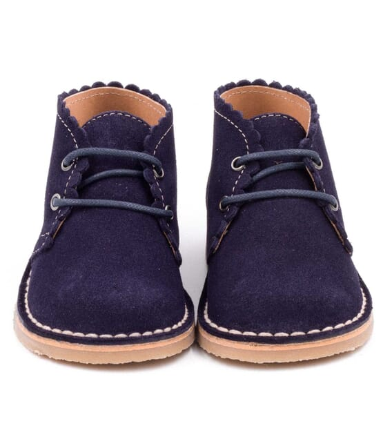 Boni Babe II - children's suede ankle boots.