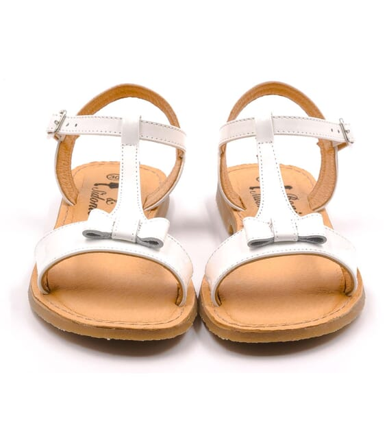 Boni Blanca II - girls white sandals