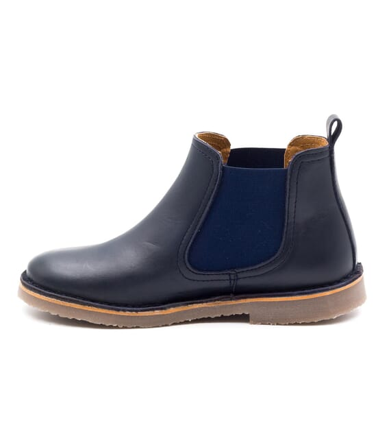 Boni Benoit - blue Leather classics boys or girl boots