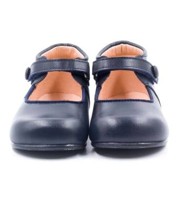 Boni Armelle - leather velcro girls' shoes
