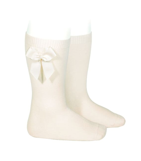 CONDOR - high socks with side bow