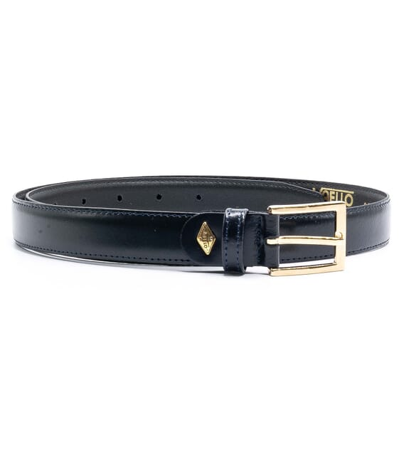 Children's leather belt