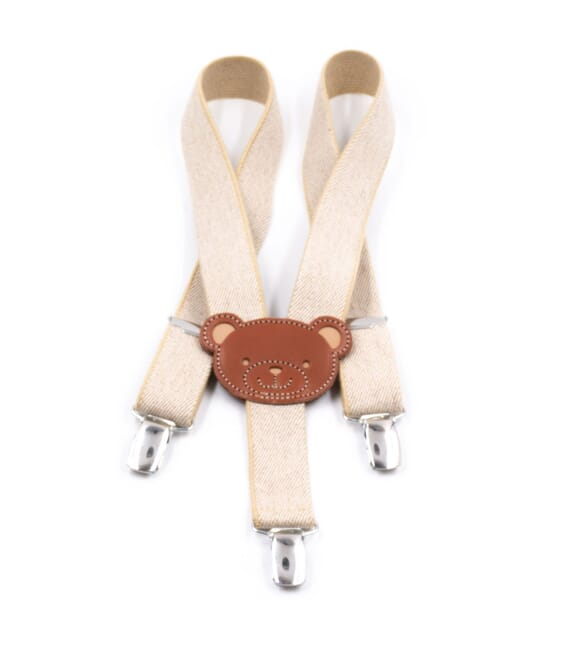 Children's adjustable braces - Teddy Bear