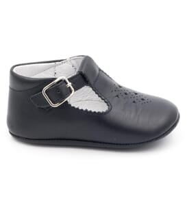 Boni Andrew - baby soft leather pre-walkers Buckle