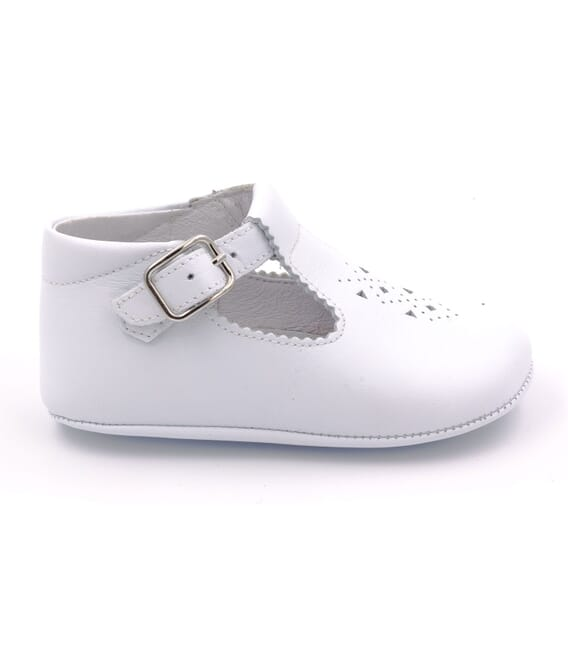 Boni Johan - baby soft leather pre-walkers Buckle